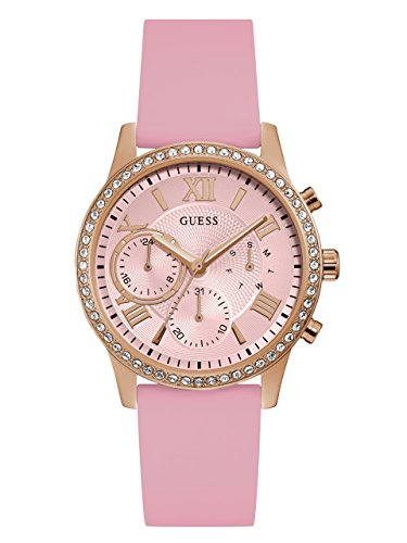 GUESS Women's U1135L2 Analog Display Japanese Quartz Pink - Guess Pink Watch