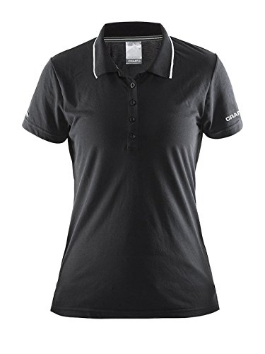 Pique the Craft Craft3ao Donna polo zone Nero In P4Fw7q
