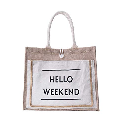 (Reusable Shopping Bags Grocery Tote Bags for Shopping and Everyday Use Tote Shopping Bag Craft Canvas Bag)