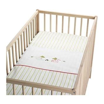 Ikea Kinderbettwäsche ikea kinderbettwäsche fabler groda bettwäsche set in 110x125cm mit