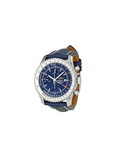 Breitling Men's A2432212/C651 Navitimer World Blue Chronograph Dial Watch