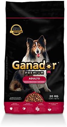 Ganador Premium 20kg, Alimento para Perros Adultos de Razas Medianas y Grandes. 2
