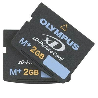 Olympus M+ 2 GB xD-Picture Card Flash Memory Card 2-Pack 202233 by Olympus