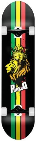 Rasta Lion Graphic Complete Skateboard 7.5 Skateboards