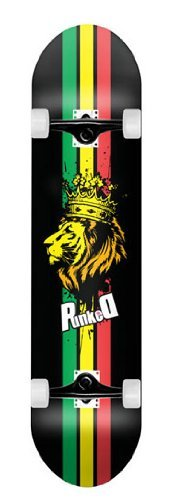 Rasta Lion Graphic Complete Skateboard 7.5 Skateboards