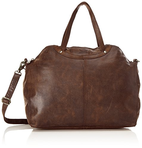 Sansibar a Marrone Zip secchiello Brown Dark Borse Bag Donna 4wxHqnt4r