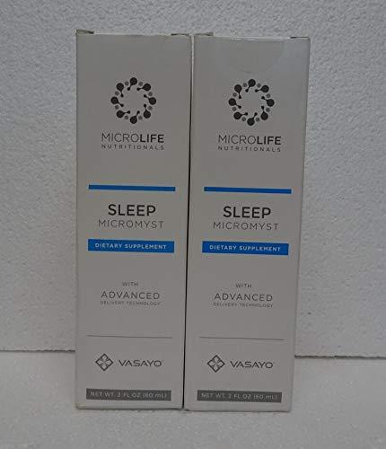 Vasayo Microlife Sleep Micromyst Dietary Supplement 2oz (Pack of Two) by Vasayo (Image #5)