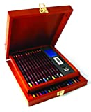 Derwent Colored Pencil Collection, Wooden Box, 32 Count (0701074)