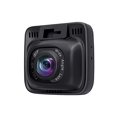 AUKEY Dash Cam, Dashboard Camera Recorder with Full HD 1080P, 6-Lane 170° Wide Angle Lens, 2' LCD and Night Vision