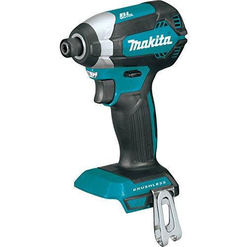 Makita XDT13Z 18V LXT Lithium-Ion Brushless Cordless Impact Driver, Tool Only, (Renewed)