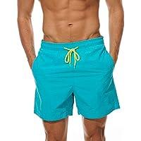 FGFD Bañador Hombre Pantalones Corto Deporte Bermudas Secado Rápido Trajes de Baño Hombre Bóxers Playa Shorts