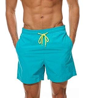0c1f56d253ac Imixcity Hombre Bermudas Bañadores de Natación Pantalones Cortos ...