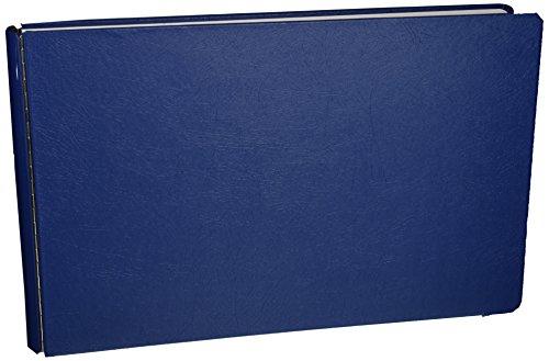 "Wilson Jones Casebound Dubllock Round Ring Binder, 1"" Capacity, 11"" X 17"", Blue Canvas, W346-70NB"