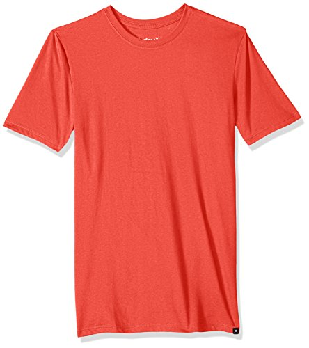 Hurley Men's Nike Dri-Fit Premium Short Sleeve Tshirt, Track red, XXL