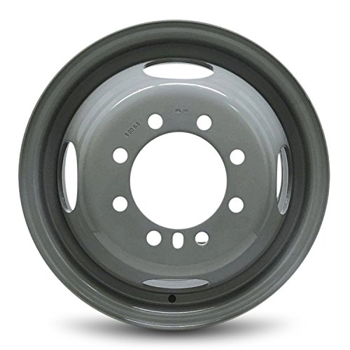 (Road Ready Car Wheel For 2007-2019 Ford E350SD 16 Inch 8 Lug Gray Steel Rim Fits R16 Tire - Exact OEM Replacement - Full-Size)