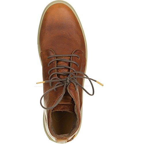 Satorisan - Zapatillas para hombre negro negro cuero