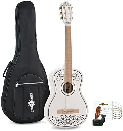 Paquete de Guitarra Clasica Junior Day of the Dead de Gear4music ...