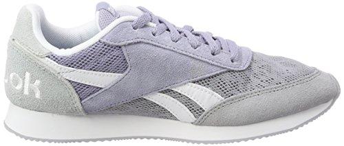 Reebok Damen Royal Classic Jogger 2 Sneaker Violett (ombra Fredda / Viola Nebbia / Nuvola Grigio / Bianco)