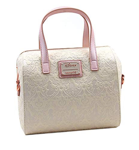 Loungefly Disney Princess Damask Debossed Duffel Handbag