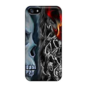 ConnieJCole YzbSIjh3993pmalS Case Cover Skin For Iphone 5/5s (skull)
