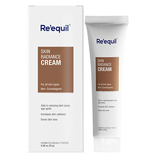 RE' EQUIL Skin Radiance Cream that helps in reducing hyper pigmentation, dark spots, age spots, melasma – 30g