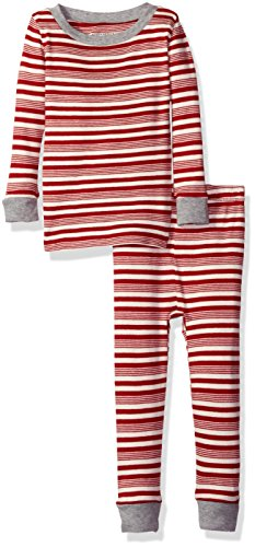 Burt's Bees Kid's Organic Henley Pajama Tee and Pant Set