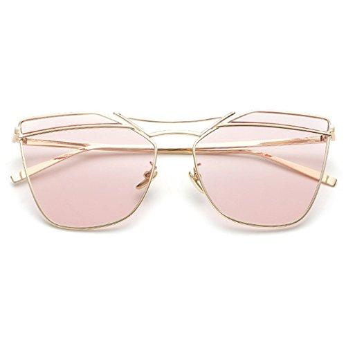 LOMOL Girls Fashion Trendy Personality UV Protection Metal Frame Wayfarer - Fake 2016 Oakleys Best