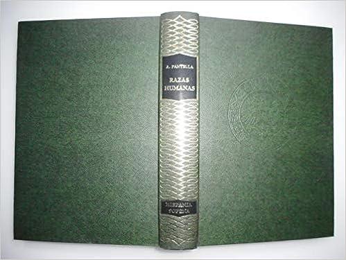 Amazon.com: Razas humanas (Biblioteca hispania) (Spanish ...
