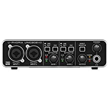 Behringer UMC202HD U-Phoria USB Audio Interface with MIDAS Microphone Preamplifiers