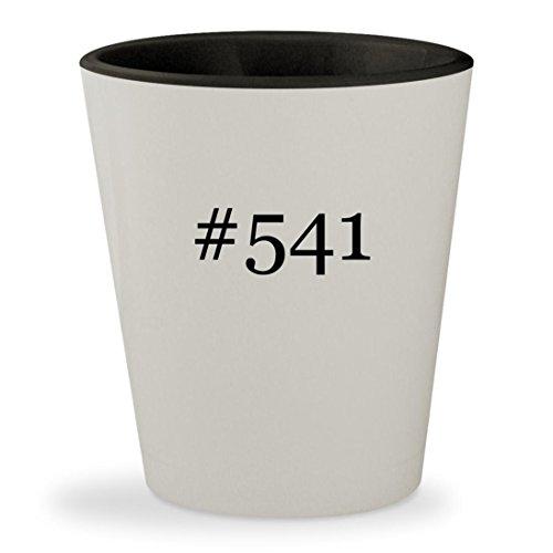 #541 - Hashtag White Outer & Black Inner Ceramic 1.5oz Shot - Sps 541
