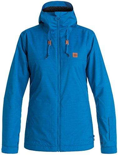 DC Delinquent Women's Skiing Snowboard Jacket - Nautical Blue Medium