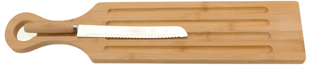 BBTradesales Breadboard with Knife Koopman 784200430