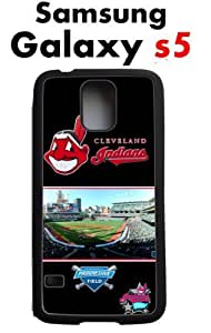 Cleveland Indians Samsung Galaxy s5 Case Hard Silicone Case by Maris's Diary
