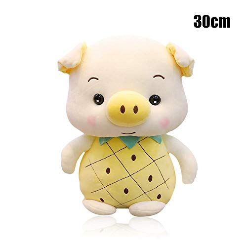 Cute Stuffed Toy - Sweet Pig Rabbit Strawberry Rabbit Pineapple Pig Plush Toy, Holding Sleeping Doll Pig Year Mascot Super Soft Pillow, Best Perfact Gifts for Girls Boys -  Gorge-buy, JD0084805dn8p