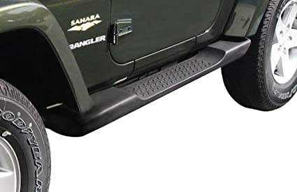 Nice Jeep Wrangler Side Steps Running Boards Molded Mopar