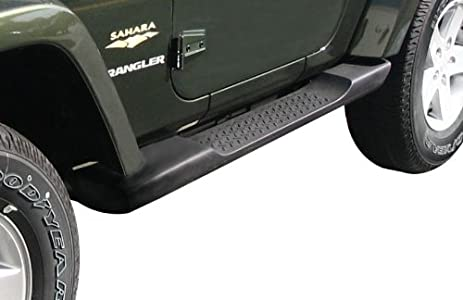 Steps For Jeep Wrangler >> Amazon Com Jeep Wrangler Side Steps Running Boards Molded Mopar