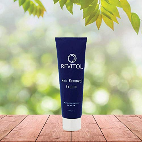 Revitol Hair Removal Treatment Cream - Remove Unwanted Hair Gentle and Fast - 1 Pack (Revitol Men Hair Removal Cream)