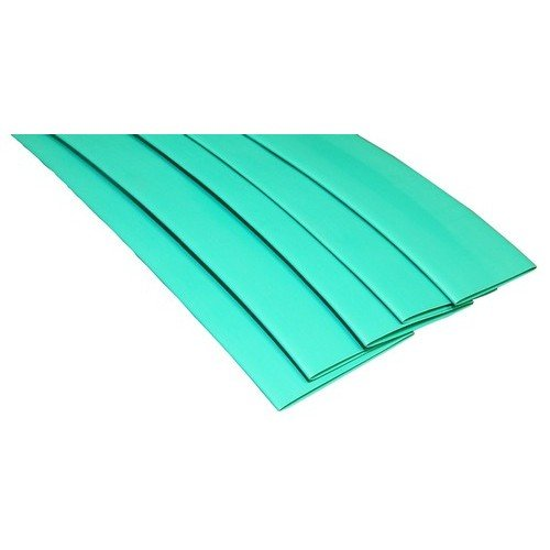 Morris 68343 Thin Wall Heat Shrink Tubing 6 Length 0.211-0.098 Size 6 Length Morris Products Green Pack of 10 0.211-0.098 Size