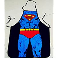 Superman pattern Apron Waterproof cooking Apron funny stuff Wedding Birthday Gifts for male/female