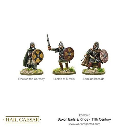 Warlord Games, Hail Caesar - Saxon Earls & Kings - 11th Century - Wargaming miniatures