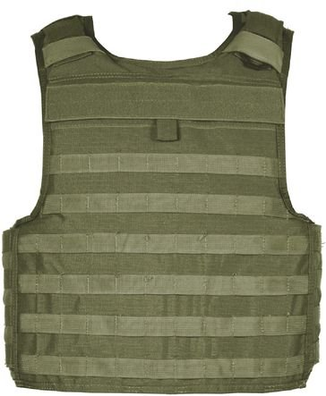 Blackhawk S.T.R.I.K.E. Carrier Cordura Lining Armor, Olive Drab, Extra Large 32V504OD-CTS