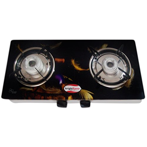 Bright Flame 2 Burner Gas Stove - Series Compact with Digita