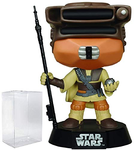 Star Wars: Return of the Jedi - Boushh Leia Funko Pop! Vinyl Figure (Includes Compatible Pop Box Protector Case) (Star Wars Return Of The Jedi Leia)