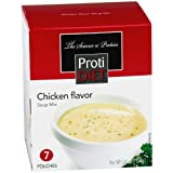 ProtiDiet Soup (14 Servings)- 7 Count (Pack of 2)- Chicken Flavor Soup