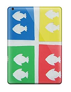 AnnDavidson ZEWrGAK12095OHQir Protective Case For Ipad Air(fish Cutouts )