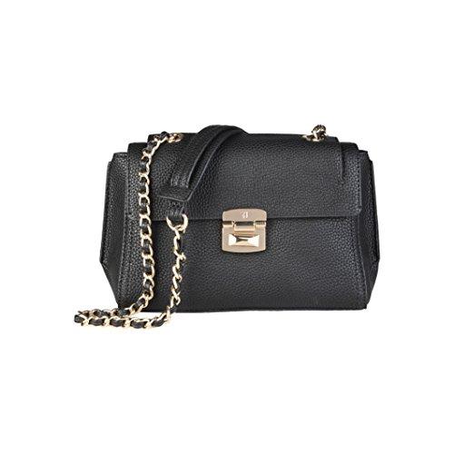 trussardi-black-cross-body-bag