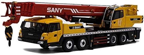 おもちゃ カーモデル 記念日  1:43トラッククレーン合金エンジニアリング車両モデルは おもちゃのアクセサリー クレーンモデルをダイカスト ラッピング無料
