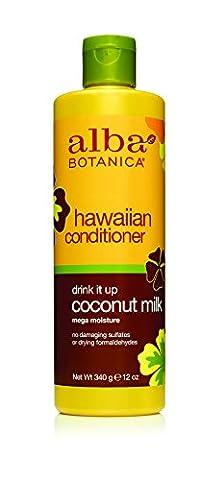 Alba Botanica Natural Hawaiian Conditioner Coconut Milk, 12 oz (Organics Coconut Conditioner)
