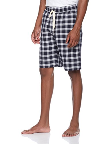 Rebel Canyon Young Men's Woven Flannel Plaid Lounge Short