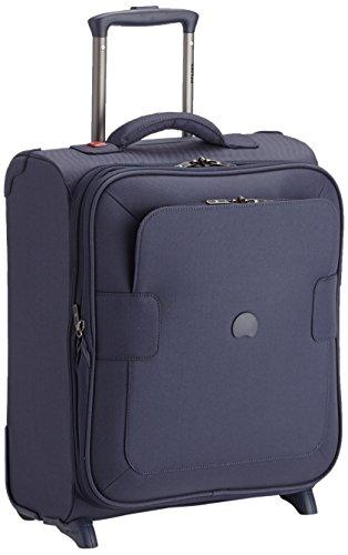 Valigia Trolley da Cabina Slim Ryanair Delsey Blu 50 cm Espandibile Linea Tuileries
